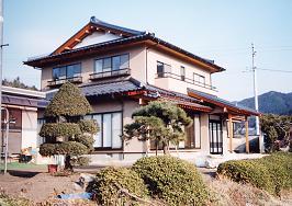 常陸太田市 落ち着いた木造2階建て住宅