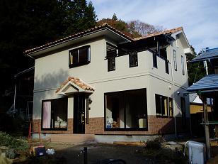 大子町 35坪自然素材の2階建て注文住宅