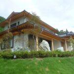久慈郡大子町 数寄屋造りの桧の2世帯注文住宅